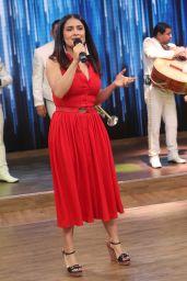 Salma Hayek - Despierta America TV Show in Miami 04/24/2017