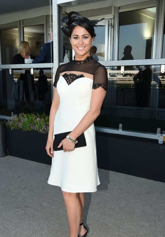 Sam Quek - Ladies Day at Aintree, Liverpool 4/7/2017