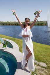 Sara Sampaio – REVOLVE festival at Coachella in Palm Springs 4/15/2017