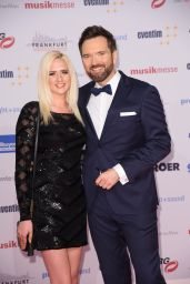 Sarah Knappik – PRG Live Entertainment Award in Frankfurt 4/3/2017