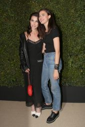 Sarah Margaret Qualley - Arrives at Chanel Dinner in Los Angeles 4/7/2017