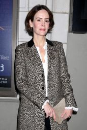 """Sarah Paulson – """"The Little Foxes"""" Play Opening Night in New York 4/19/2017"""