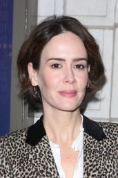 "Sarah Paulson – ""The Little Foxes"" Play Opening Night in New York 4/19/2017"