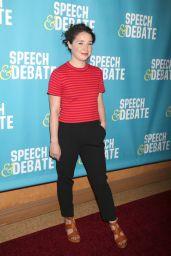 "Sarah Steele at ""Speech & Debate"" Premiere in New York 4/2/2017"