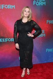 Sasha Pieterse at Freeform Upfront in New York 4/19/2017