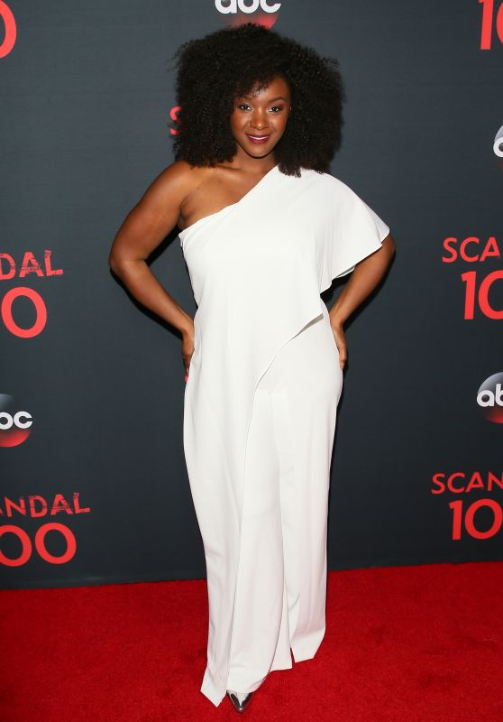 "Saycon Sengbloh – ""Scandal"" 100th Episode Celebration in WeHo 4/8/2017"