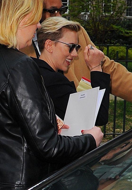 Scarlett Johansson at Tribeca Film Festival in New York City 4/21/2017