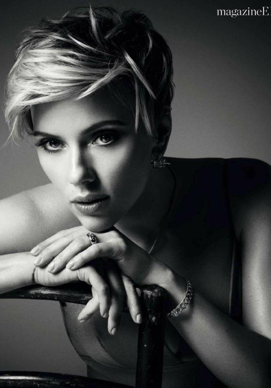 Scarlett Johansson - Elle Spain May 2017 Issue