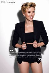 Scarlett Johansson - Elle Spain May 2017 Issue