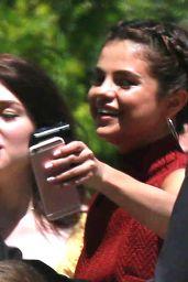 Selena Gomez at David Henrie & Maria Cahill