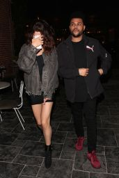 Selena Gomez With The Weeknd at TAO Beauty & Essex in Hollywood 4/6/2017