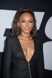 """Serayah McNeill – """"Fate of the Furious"""" Pemiere in New York 4/8/2017"""