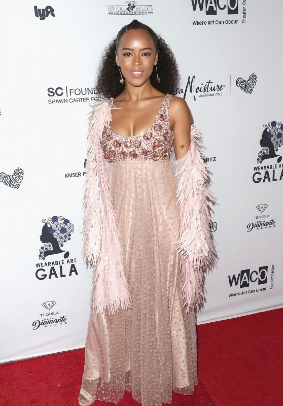 Serayah – Wearable Art Gala in Los Angeles 04/29/2017