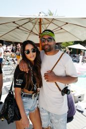 Shay Mitchell at The Blonde Salad x Revolve Pool Party in Palm Springs 4/14/2017