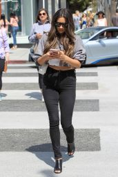 Shay Mitchell - Leaving the Revolve LA Social Club in Los Angeles 4/7/2017