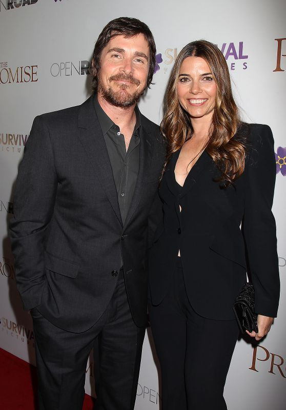 "Sibi Blazic and Christian Bale - ""The Promise"" Special Screening in NY 4/18/2017"