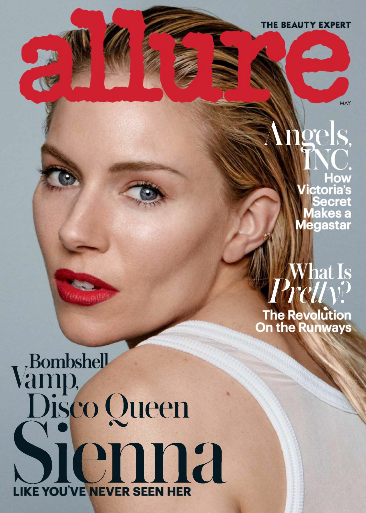 Sienna Miller - Allure Magazine May 2017 Issue