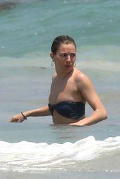 Sienna Miller Bikini Candids - Beach in Cancun 4/2/2017