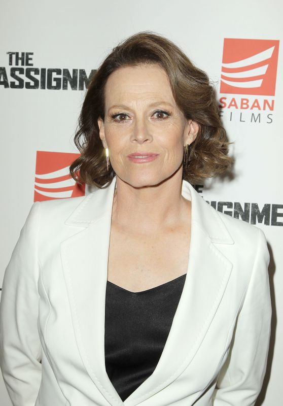 "Sigourney Weaver - ""The Assignment"" Movie Screening in New York 4/3/2017"