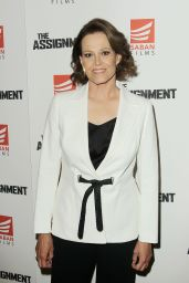 """Sigourney Weaver - """"The Assignment"""" Movie Screening in New York 4/3/2017"""