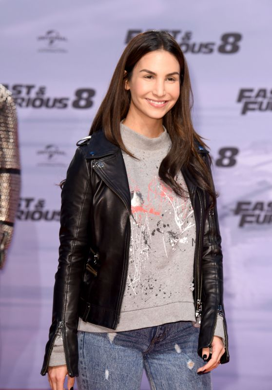 "Sila Sahin – ""Fast & Furious 8"" Premiere at CineStar Sony Center in Berlin 4/4/2017"