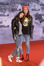 "Sila Sahin – ""Fast & Furious 8"" Premiere at CineStar Sony Center in Berlin 4/4/2017"
