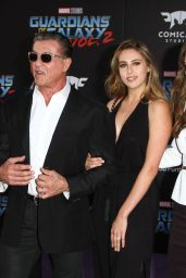 Sistine Stallone & Sophia Stallone - Guardians of the Galaxy Vol. 2 Premiere in Los Angeles
