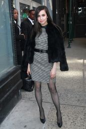 Sofia Carson Chic Outfit - AOL Build Studios in NYC 3/10/2017