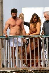 Sofia Vergara - Filming Her Movie in Rome, Italy, April 2017