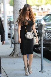 Sofia Vergara Looks Stylish - Lunch Outing in Beverly Hills 4/20/2017