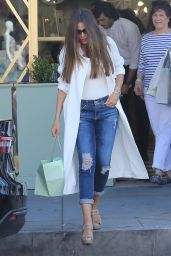Sofia Vergara - Shopping at Saks Fifth Avenue in Beverly Hills 4/15/2017