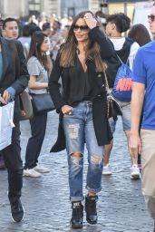 Sofia Vergara Street Style - Rome, Italy 4/7/2017