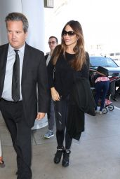 Sofia Vergara Travel Outfit - LAX in Los Angeles, California 3/31/2017