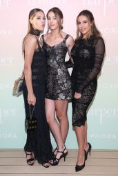Sophia, Scarlet, & Sistine Stallone at Harper's Bazaar Party in Los Angeles 04/26/2017