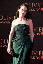 Sophie McShera on Red Carpet – Olivier Awards 2017 in London