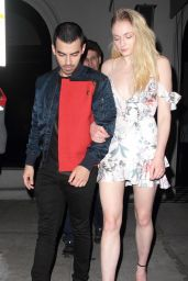 Sophie Turner Night Out With Joe Jonas - Craig