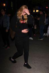 Sophie Turner - Outside Her Hotel in New York City 04/28/2017