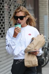 Stella Maxwell Street Style - Out in Noho, New York 4/20/2017