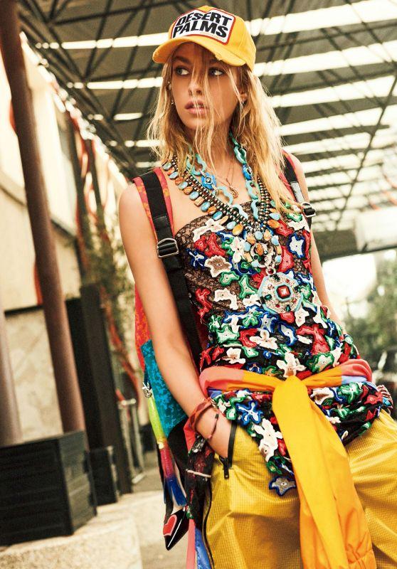 Stella Maxwell - Vogue Japan June 2017 Photos