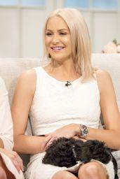 Stephanie Pratt at Lorraine TV Show in London 4/17/2017