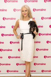 Stephanie Pratt at Lorraine TV Show in London 4/17/2017
