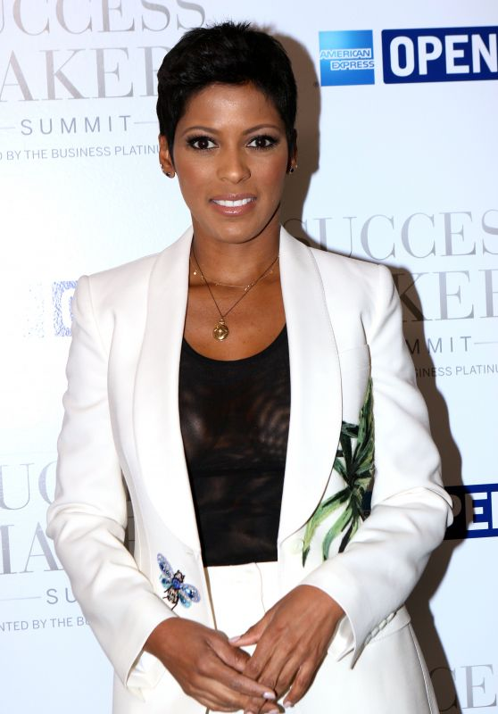 Tamron Hall - American Express Success Makers Summit in New York 4/17/2017