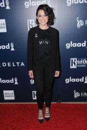 Tatiana Maslany – GLAAD Media Awards in Los Angeles 4/1/2017