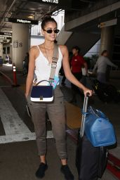 Taylor Hill at LAX Airport in Los Angeles, April 2017