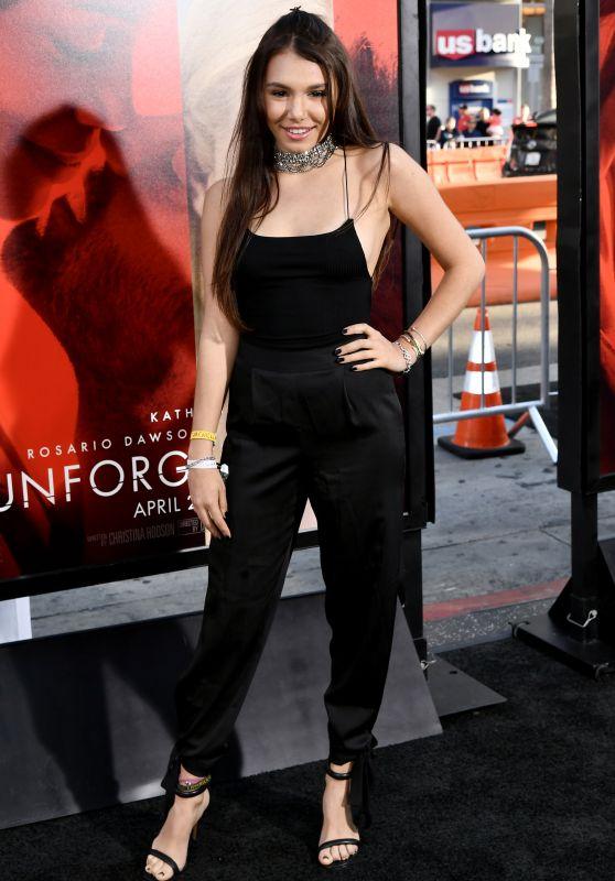 "Taylor Olympios – ""Unforgettable"" Premiere in LA 4/18/2017"
