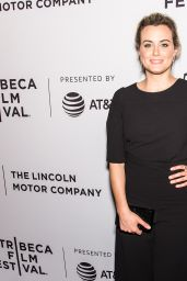 "Taylor Schilling on Red Carpet - ""Take Me"" Premiere at TFF in New York"