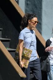 Thandie Newton Leaves a Studio After Filming Actors on Actors in LA, April 2017
