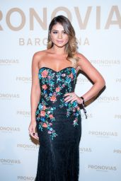 Thassia Naves – Barcelona Photocall at the Pronovias Catwalk Show 04/28/2017