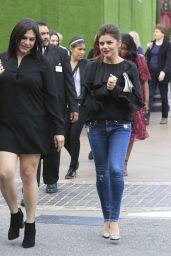 Tiffani Thiessen at The Grove in LA 4/4/2017