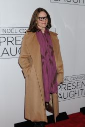 """Tina Fey  - """"Present Laughter"""" Opening Night on Broadway 4/5/2017"""
